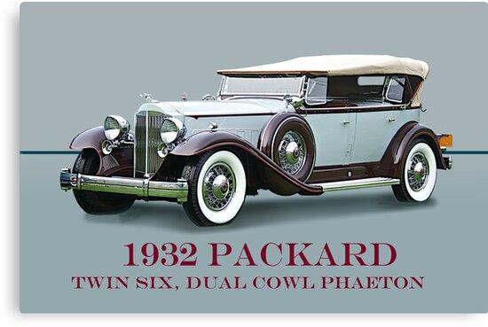 1932 Packard Twin Six Dual Cowl Phaeton w/ ID by DaveKoontz