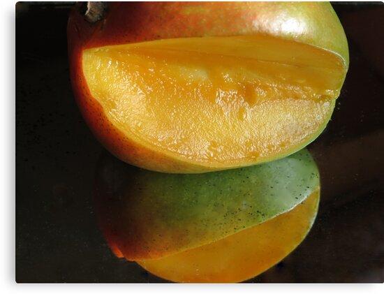 Mirrored Mango by Diane Arndt