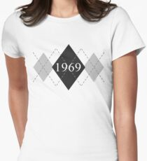 Abstraq Inc: 1969 Argyle (black) T-Shirt