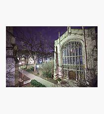 Bond Chapel & The Quad Photographic Print