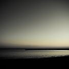 At the end of the day by the sea by marina63