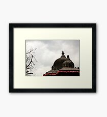 A Tinge Of Red Framed Print