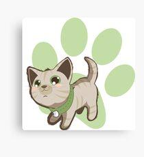 Cute Kitty (4) Canvas Print