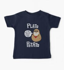 Plato Potato Baby Tee