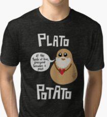 Plato Potato Tri-blend T-Shirt