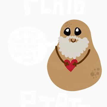 Plato Potato by geeksweetie