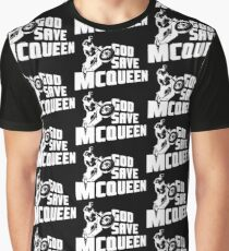 God Save McQueen Graphic T-Shirt