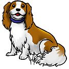 King Charles Cavalier Terrier by Jennifer Stolzer
