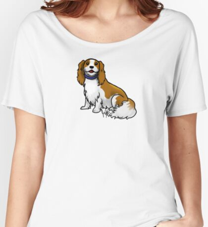 King Charles Cavalier Terrier Women's Relaxed Fit T-Shirt