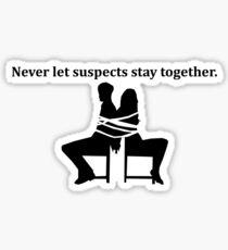 Rule 1 Sticker