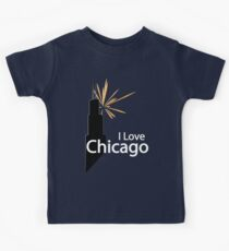 I Love Chicago Kids Clothes