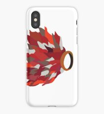 Ring in fire  iPhone Case