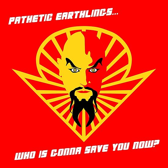 Ming the Merciless by dutyfreak