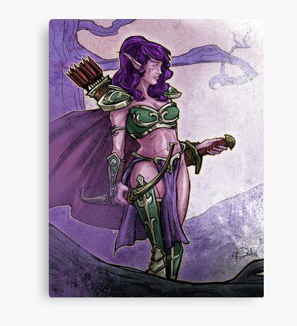 Elf Huntress Canvas Print