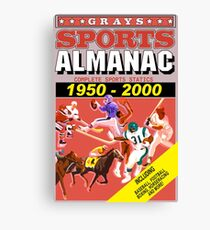BTTF: Sports Almanac Canvas Print