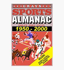 BTTF: Sports Almanac Photographic Print