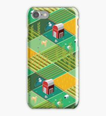 Isometric Farmlands iPhone Case/Skin