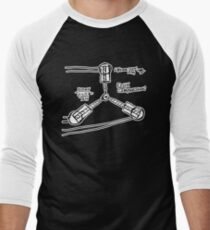 BTTF: Flux capacitor Men's Baseball ¾ T-Shirt