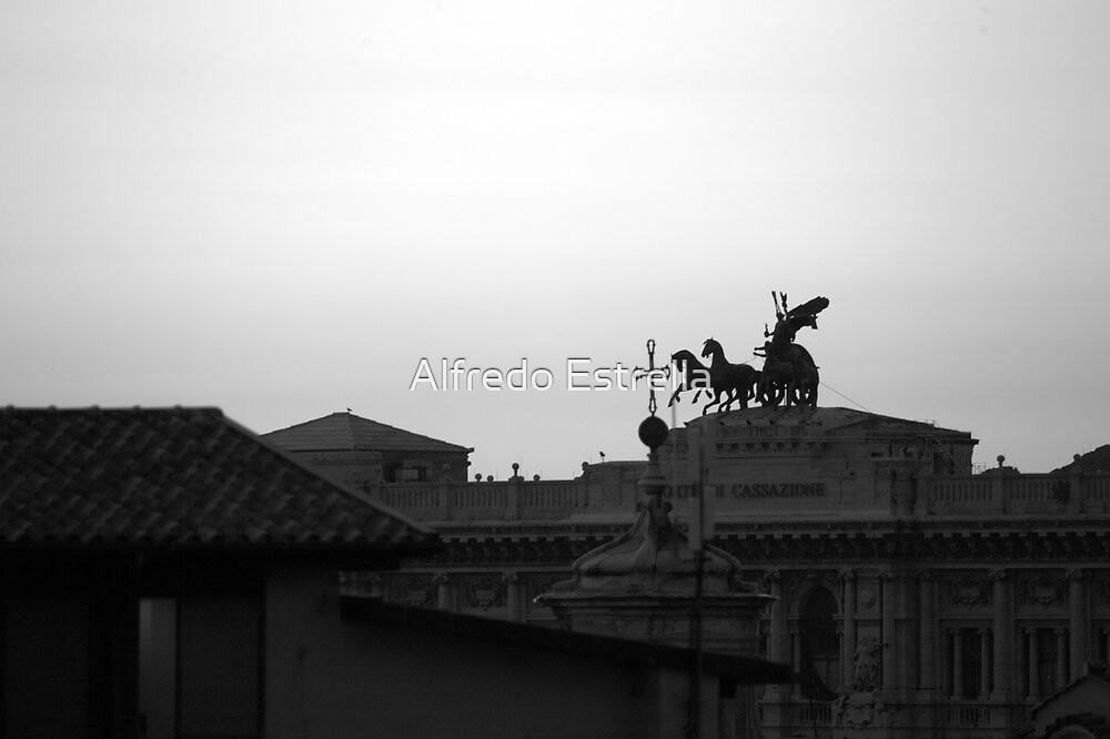 A Sun God by Alfredo Estrella