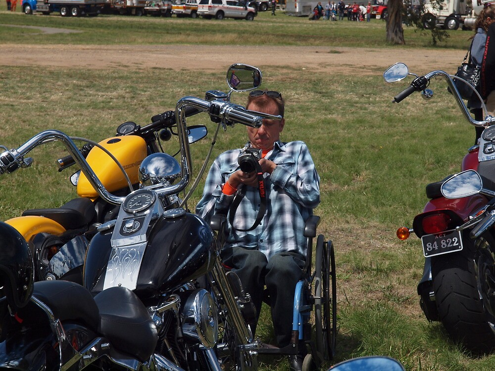 Convoy for kids with cancer Canberra by Tom McDonnell