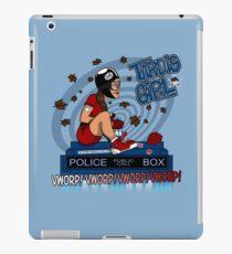 Tardis Girl iPad Case/Skin