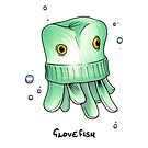 Glovefish by yeomanscarart
