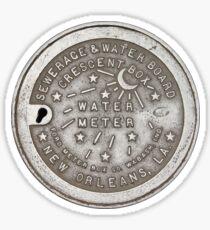 Pegatina Cubierta del medidor de agua Crescent City