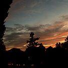 October Sunset Over Sleepy Hollow Cemetery, NY  by Jane Neill-Hancock
