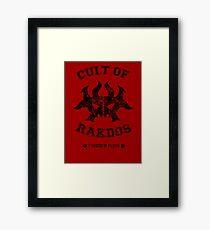 Cult of Rakdos Guild Framed Print