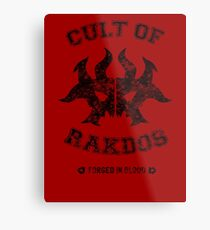 Cult of Rakdos Guild Metal Print