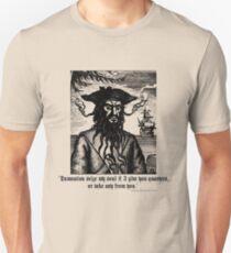 Pirate Blackbeard - Quote T-Shirt