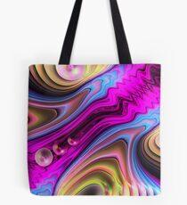 The Stream, abstract fractal wallart Tote Bag
