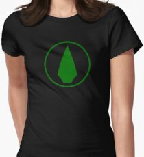 Arrow Logo Women's Fitted T-Shirt