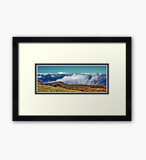 Mountains Framed Print
