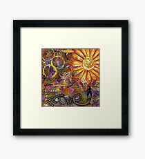 Standing on HOPE Framed Print