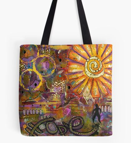 Standing on HOPE Tote Bag