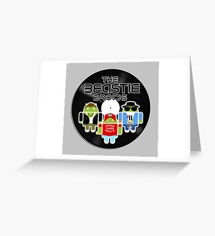 THE BEASTIE DROIDS Greeting Card