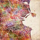 Dublin map by MapMapMaps