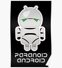 PARANOID ANDROID Poster