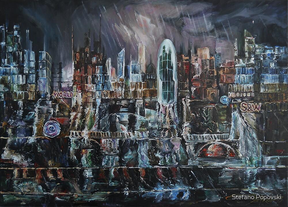 Rainy Reflections by Stefano Popovski