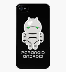 PARANOID ANDROID iPhone 4s/4 Case