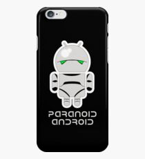 PARANOID ANDROID iPhone 6 Case