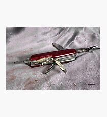 Swiss Army Knife Photographic Print