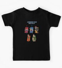 Gravity Falls Character Select Kids Tee
