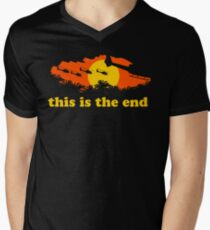 Apocalypse Now: This is the end Men's V-Neck T-Shirt