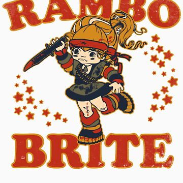 Rambo Brite (Stickers) by OneShoeOff