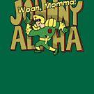 Johnny Alpha by robotrobotROBOT