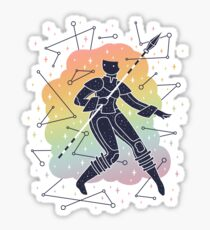 Rainbow Warrior Sticker