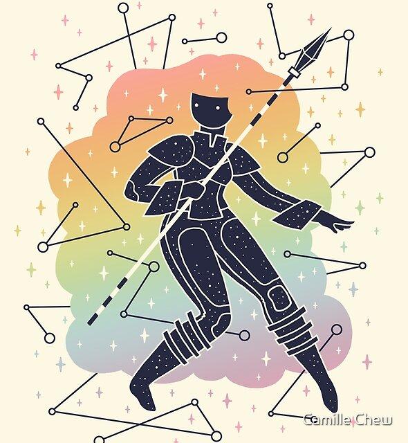 Rainbow Warrior by Camille Chew