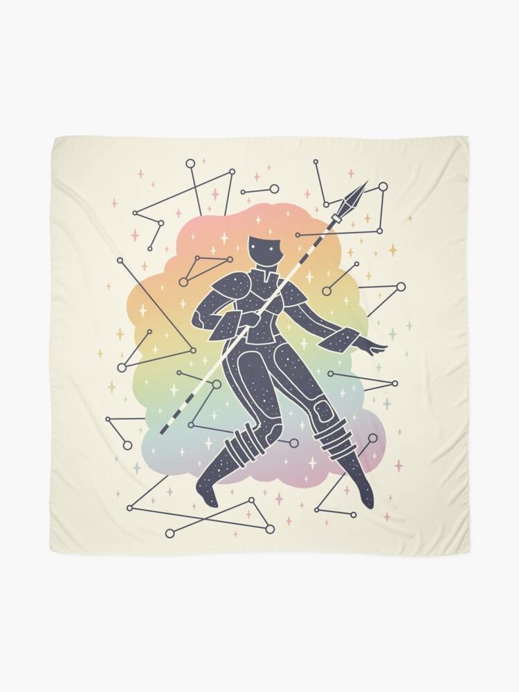 Alternate view of Rainbow Warrior Scarf